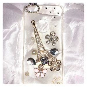 Accessories - iPhone 6 Plus bling and clear case.